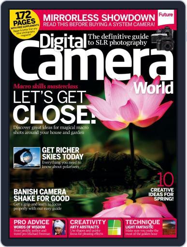 Digital Camera World February 28th, 2014 Digital Back Issue Cover