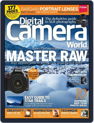 Digital Camera World January 2nd, 2014 Issue Cover