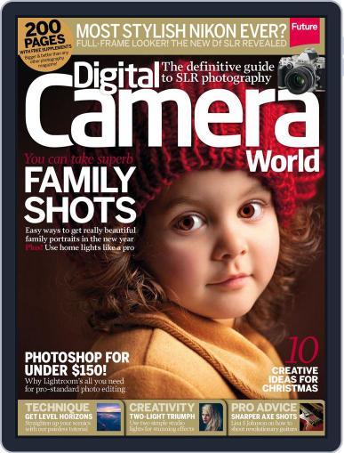 Digital Camera World December 5th, 2013 Digital Back Issue Cover
