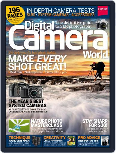 Digital Camera World August 16th, 2013 Issue Cover