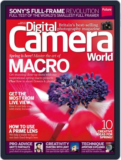 Digital Camera World March 28th, 2013 Issue Cover