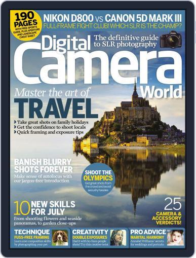 Digital Camera World June 22nd, 2012 Digital Back Issue Cover