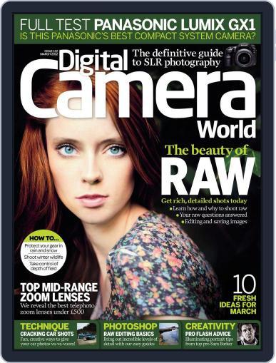 Digital Camera World February 3rd, 2012 Issue Cover