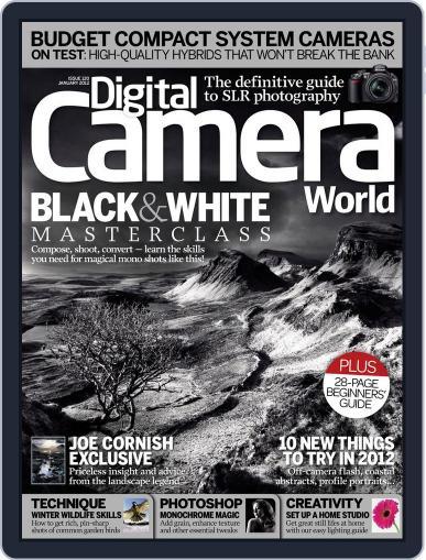 Digital Camera World December 12th, 2011 Digital Back Issue Cover