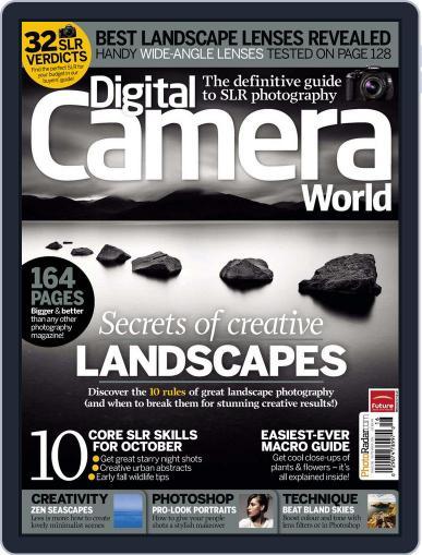 Digital Camera World August 24th, 2011 Digital Back Issue Cover