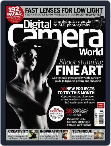 Digital Camera World March 12th, 2011 Issue Cover