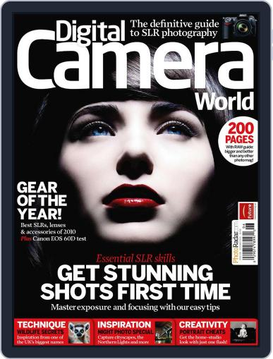 Digital Camera World November 15th, 2010 Digital Back Issue Cover