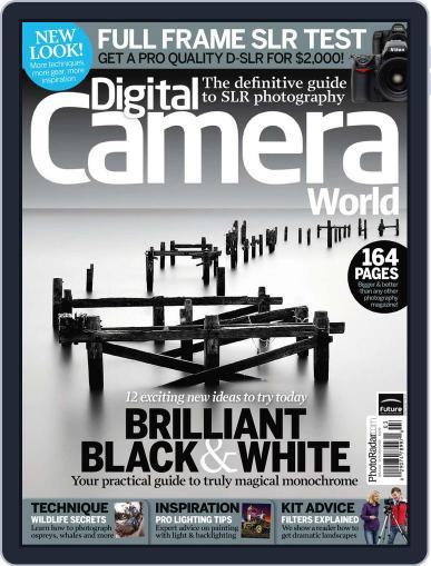 Digital Camera World August 24th, 2010 Digital Back Issue Cover