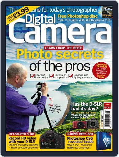 Digital Camera World May 3rd, 2010 Digital Back Issue Cover