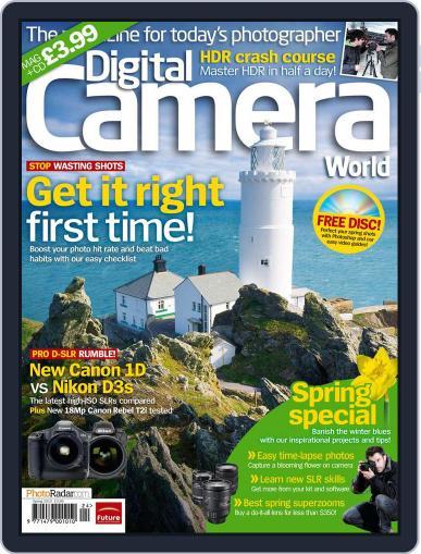 Digital Camera World April 8th, 2010 Digital Back Issue Cover