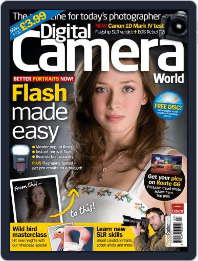 Digital Camera World March 9th, 2010 Issue Cover