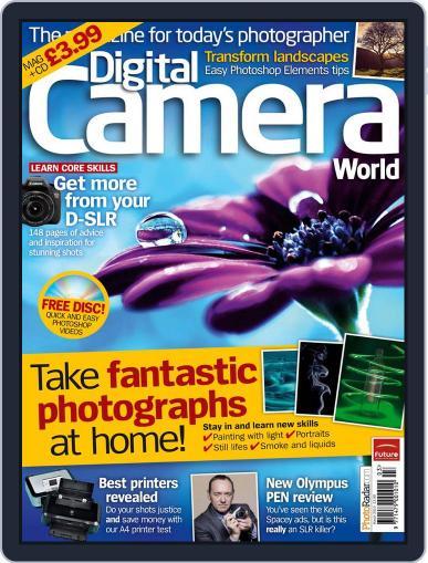 Digital Camera World February 8th, 2010 Digital Back Issue Cover