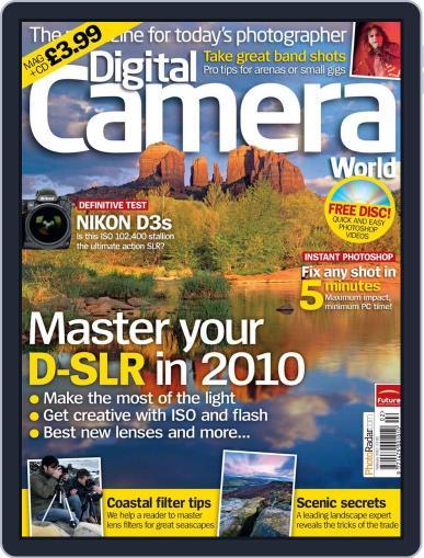 Digital Camera World January 5th, 2010 Digital Back Issue Cover