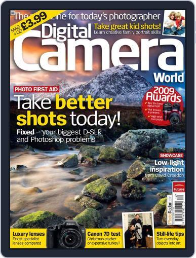 Digital Camera World November 16th, 2009 Digital Back Issue Cover