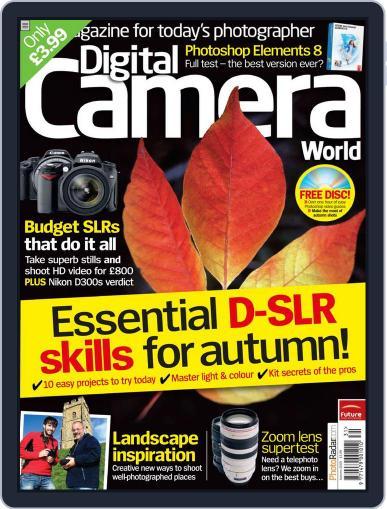 Digital Camera World October 21st, 2009 Digital Back Issue Cover