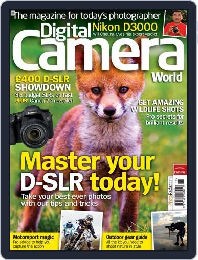 Digital Camera World September 22nd, 2009 Issue Cover