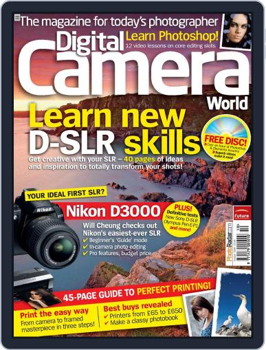 Digital Camera World August 24th, 2009 Issue Cover