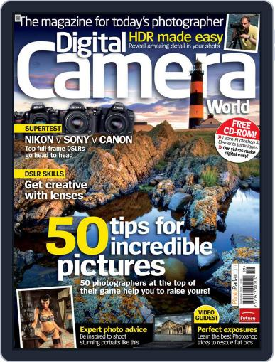 Digital Camera World July 27th, 2009 Issue Cover