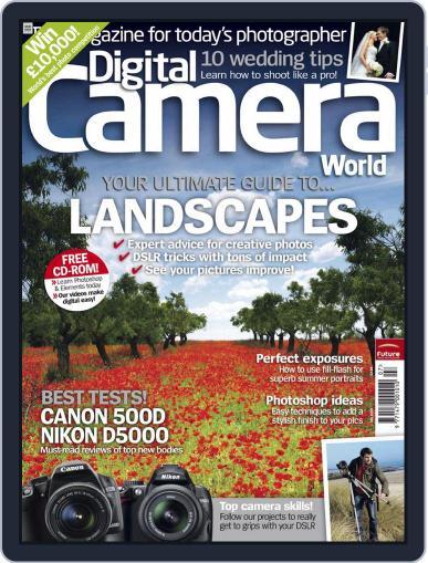 Digital Camera World June 1st, 2009 Digital Back Issue Cover