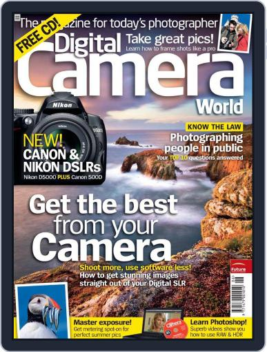 Digital Camera World May 5th, 2009 Issue Cover