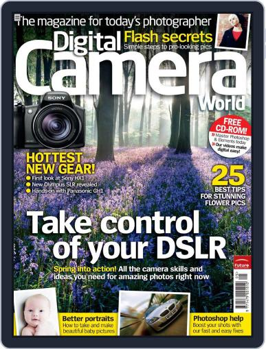 Digital Camera World April 6th, 2009 Issue Cover