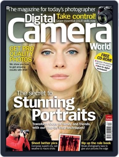 Digital Camera World March 10th, 2009 Digital Back Issue Cover