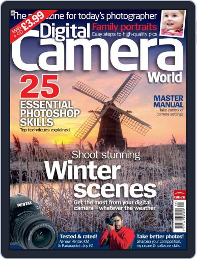 Digital Camera World December 15th, 2008 Issue Cover