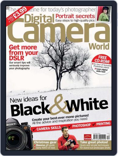 Digital Camera World November 17th, 2008 Issue Cover