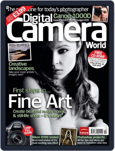 Digital Camera World August 24th, 2008 Issue Cover