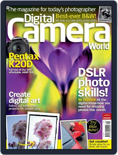 Digital Camera World May 4th, 2008 Issue Cover