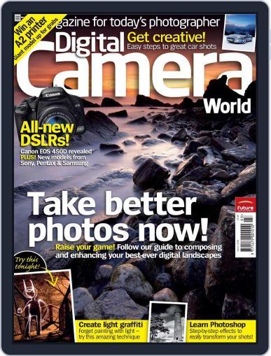 Digital Camera World February 28th, 2008 Issue Cover