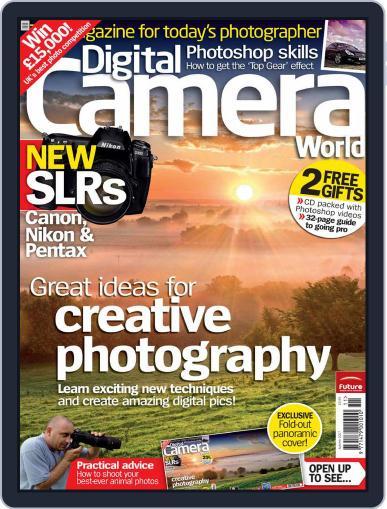 Digital Camera World September 26th, 2007 Digital Back Issue Cover