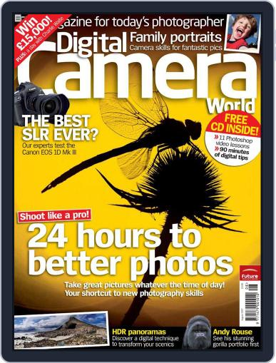 Digital Camera World July 10th, 2007 Issue Cover