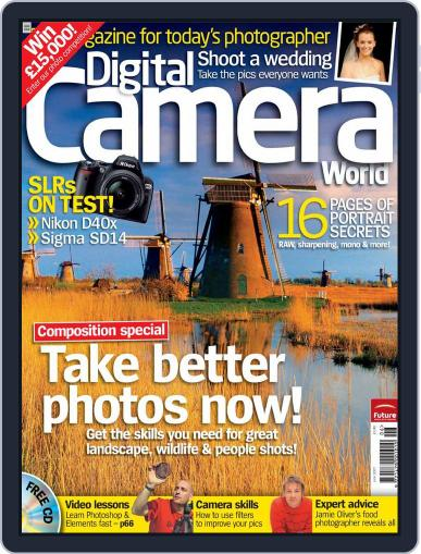 Digital Camera World April 30th, 2007 Issue Cover