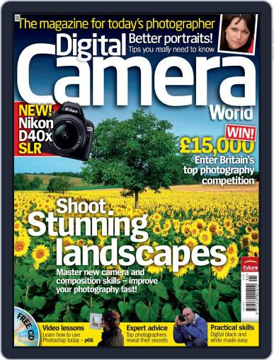 Digital Camera World April 19th, 2007 Issue Cover