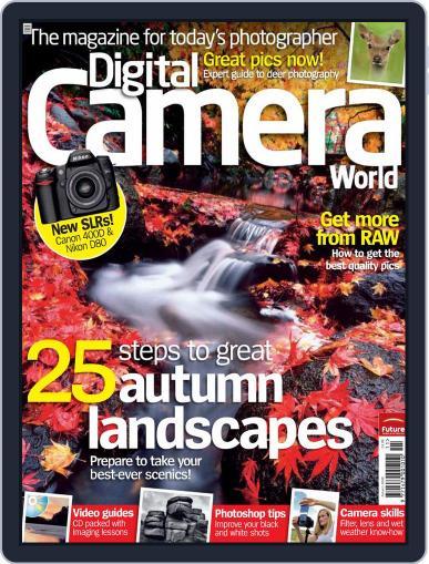 Digital Camera World November 3rd, 2006 Digital Back Issue Cover