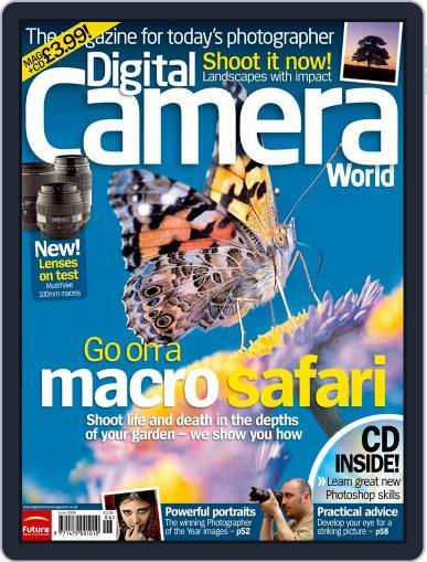 Digital Camera World May 17th, 2006 Digital Back Issue Cover