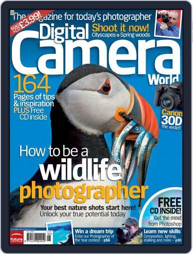 Digital Camera World April 14th, 2006 Digital Back Issue Cover