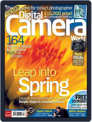Digital Camera World March 16th, 2006 Digital Back Issue Cover