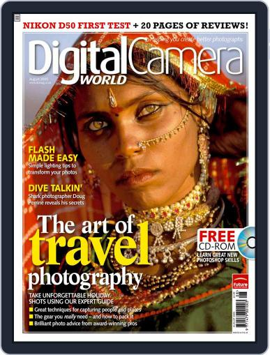 Digital Camera World July 14th, 2005 Issue Cover