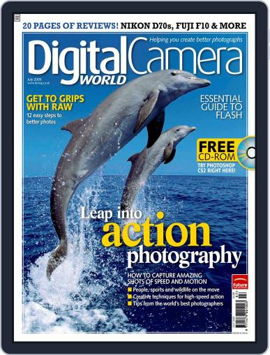 Digital Camera World June 16th, 2005 Issue Cover