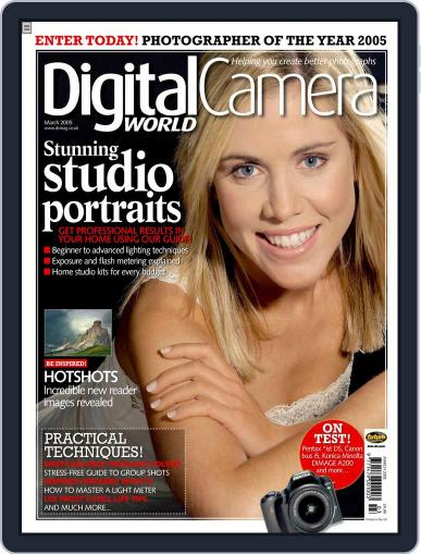 Digital Camera World February 24th, 2005 Issue Cover