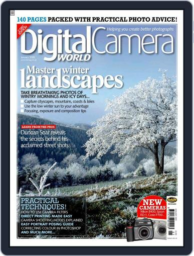Digital Camera World January 7th, 2005 Issue Cover