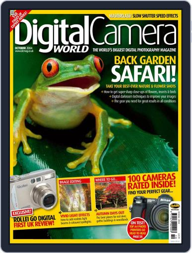 Digital Camera World September 16th, 2004 Issue Cover