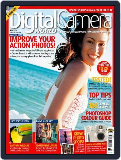 Digital Camera World June 25th, 2004 Digital Back Issue Cover