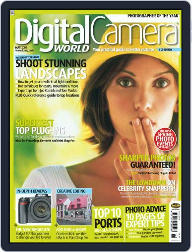 Digital Camera World April 30th, 2004 Issue Cover