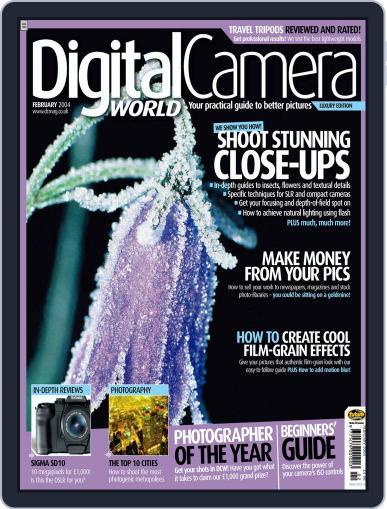Digital Camera World February 9th, 2004 Issue Cover