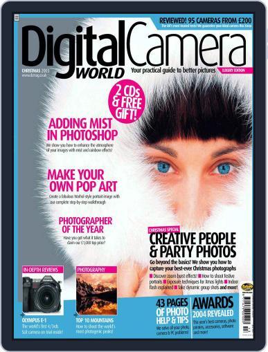 Digital Camera World December 8th, 2003 Digital Back Issue Cover