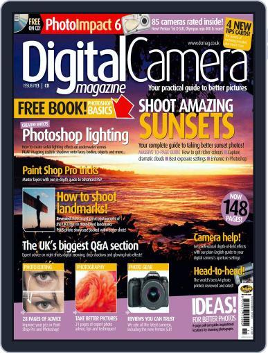 Digital Camera World September 29th, 2003 Digital Back Issue Cover
