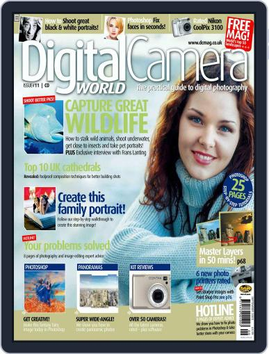Digital Camera World July 31st, 2003 Issue Cover